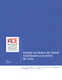 Relance : comment financer l'action climat